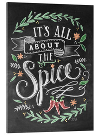 Acrylic print  It's all about the Spice - Lily & Val