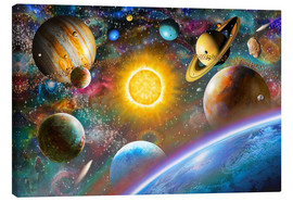 Canvas print  Outer Space - Adrian Chesterman