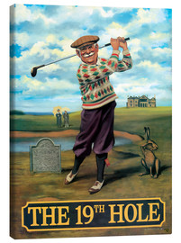 Canvas print  The 19th Hole - Peter Green's Pub Signs Collection