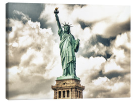 Canvas print  Statue of Liberty - symbol of New York