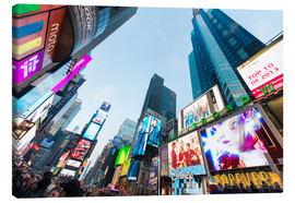 Canvas print  Times Square - most popular spot in New York