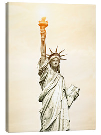 Canvas print  Liberty Statue in New York, USA