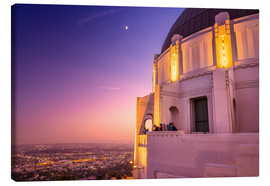 Canvas print  Griffith Observatory - Chiara Salvadori