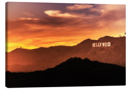 Canvas print  Hollywood - Chiara Salvadori