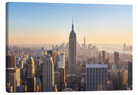 Canvas print  Downtown Manhattan