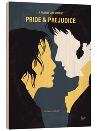 Wood print  Pride and Prejudice - chungkong