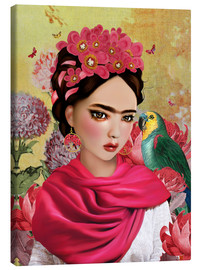 Canvas print  Frida - Mandy Reinmuth