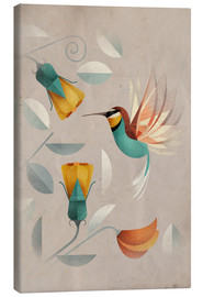 Canvas print  Humming-bird - Dieter Braun