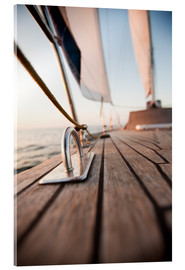 Acrylic print  Sailing in the Wind
