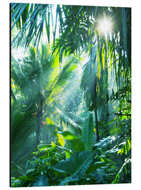 Aluminium print  Jungle fever