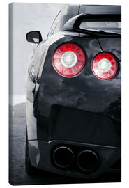 Canvas print  Sports Car Lights