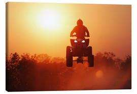 Canvas print  Driving quad
