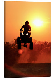 Canvas print  Quad Race