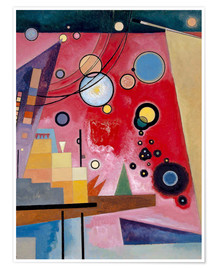 Premium poster  Heavy red - Wassily Kandinsky