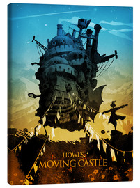 Canvas print  Howl's Moving Castle - Albert Cagnef