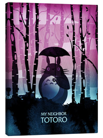 Canvas print  My Neighbor Totoro - Albert Cagnef