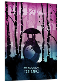Foam board print  My Neighbor Totoro - Albert Cagnef