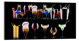 Acrylic print  Barkeeper's Shelf
