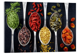 Acrylic print  Healthy Ingredients