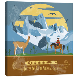 Canvas print  Chile - Torres del Paine