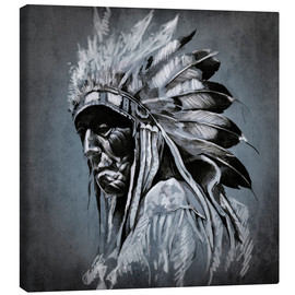 Canvas print  Old chieftain