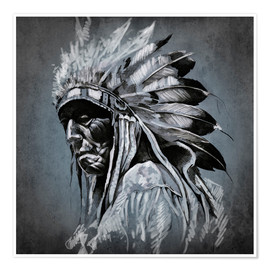 Premium poster  Old chieftain