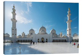 Canvas print  Dubai - Sheikh Zayed mosque