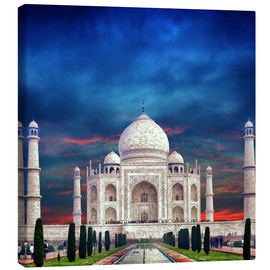 Canvas print  Taj Mahal in India