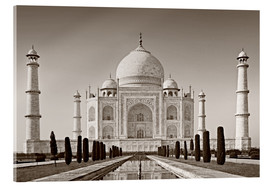 Acrylic print  Taj Mahal in sunrise light