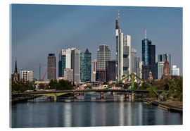 Acrylic print  Skyline Frankfurt am Main Shining Morning - Frankfurt am Main Sehenswert