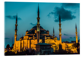 Acrylic print  Blue Mosque in Istanbul