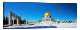 Canvas print  Dome of the Rock mosque in Jerusalem, Israel