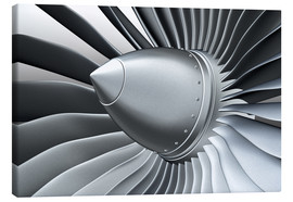Canvas print  Detail of a propeller
