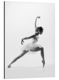 Aluminium print  Beautiful ballet dancer