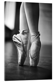 Acrylic print  Feet of a dancer