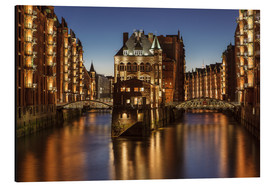 Aluminium print  Warehouse District, Hamburg, Germany - Achim Thomae