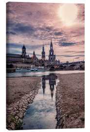 Canvas print  Old quarter Dresden - Stefan Becker