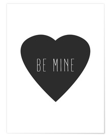 Premium poster  Be mine - Finlay and Noa