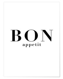 Premium poster  Bon Appetit - Finlay and Noa