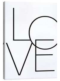 Canvas print  Love - Finlay and Noa