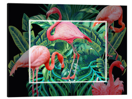Aluminium print  tropical mood - Mark Ashkenazi