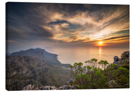 Canvas print  Table Mountain - Chiara Salvadori