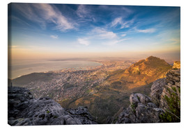 Canvas print  Table Mountain View - Chiara Salvadori