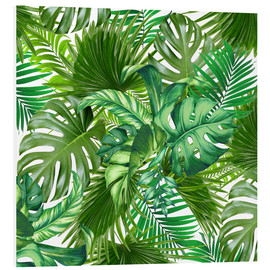 Foam board print  new tropic life - Mark Ashkenazi