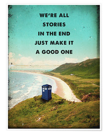 Premium poster Doctor Who