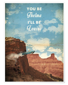 Premium poster  Thelma and Louise - 2ToastDesign