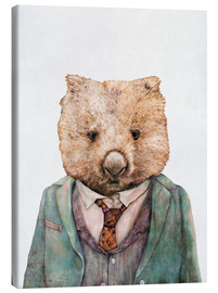 Canvas print  Wombat - Animal Crew