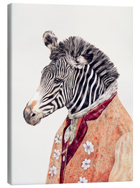 Canvas print  Zebra - Animal Crew