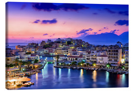Canvas print  Agios Nikolaus of the island Crete