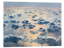 Acrylic print  Above the clouds